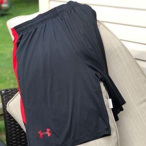 UA basketball shorts with pockets. Sz XL